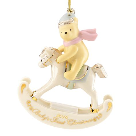 baby s first christmas winnie the pooh ornament 2016
