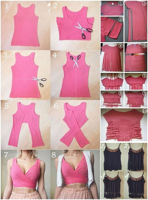 top 36 adorable diy projects diy crop top ideas for you to try