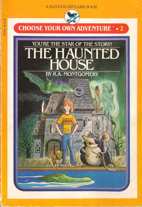 the house books choose your own adventure skylark edition
