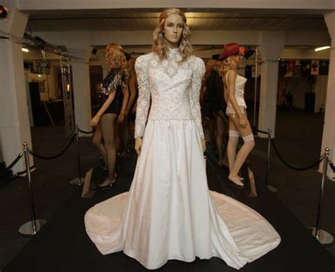 Wedding dresses: madonna's wedding dress photo