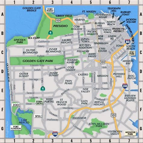 san francisco map viewer 18 best images about cool san francisco neighborhood