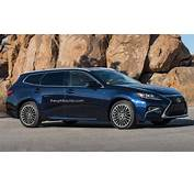 Lexus ES SportCross Wagon Rendering Will Happen When