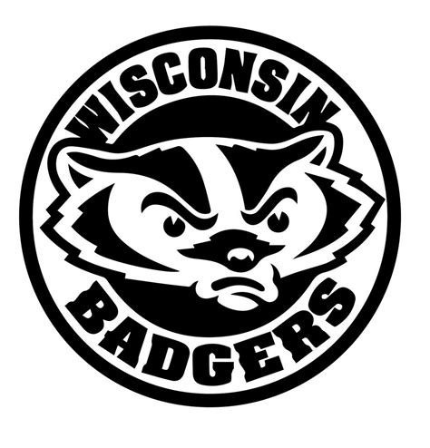 Wisconsin Badgers wisconsin badgers stencil stencils stenciling