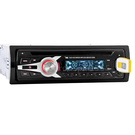 Car Cd Player With Usb Port by 1 Din Car Mp3 Cd Dvd Vcd Player Stereo Radio Audio Fm Aux