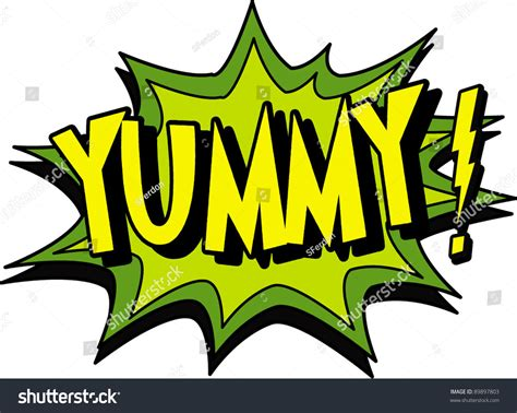 yummy stock vector 89897803 shutterstock