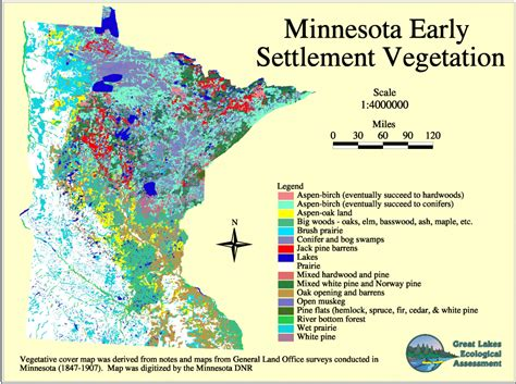 State Of Mn Records Minnesota Land Use And Cover Historic