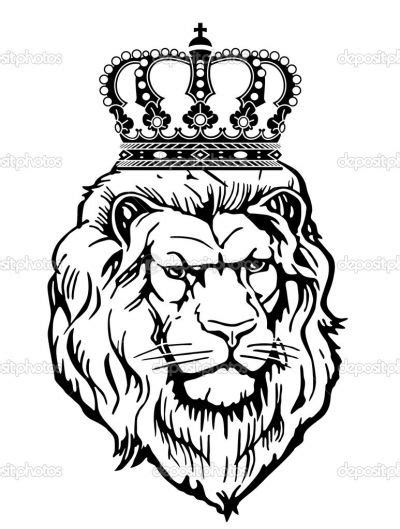 lion with crown tattoo design 13 crown design ideas for