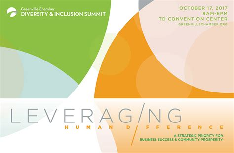Mba Diversity And Inclusion Summit by Greenville Chamber Of Commerce Diversity Inclusion Summit