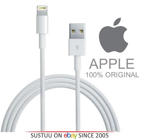 Lightning To Usb Cable Original Apple 6s plus 100 original apple lightning to usb cable iphone 5 5c 5s 6 6 plus 6s 6s plus sustuu