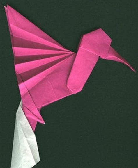 Origami Hummingbird Tutorial - hummingbird origami tutorial creative world