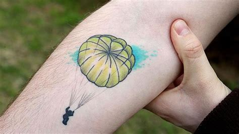 parachute tattoo parachute www pixshark images galleries