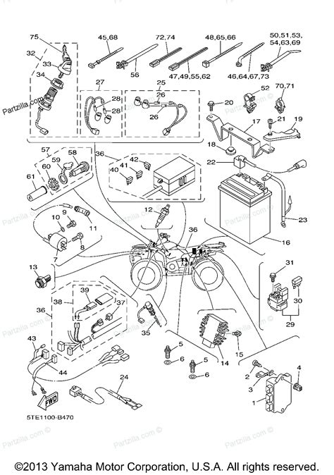 2007 yamaha raptor 700r wiring diagram wiring diagram