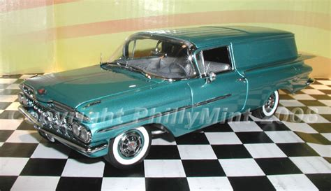 phillymint diecast west coast  chevrolet sedan delivery crown sapphire limited edition