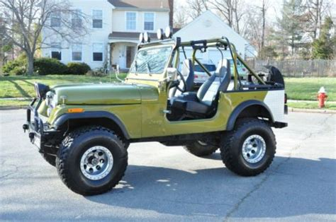 sell used 1978 jeep cj 7 v8 fuel injection