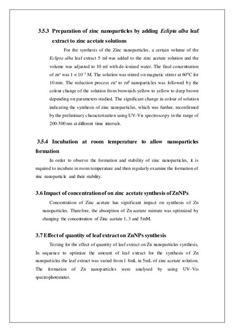 Eclipta Alba Extract 50 Ml nanotechnology