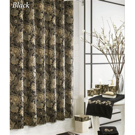 bed bath and beyond valdosta ga valdosta jacobean floral shower curtain by j queen new