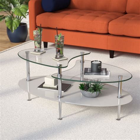 small oval glass coffee table living room small space living room table ideas glass