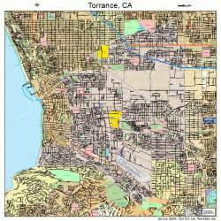 map of torrance california torrance california map 0680000