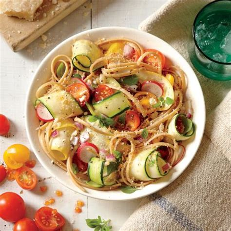 summer veggie pasta vegetarian summer entr 233 es cooking light