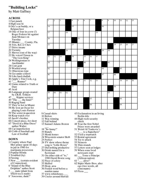 easy crossword puzzle games free fresh easy printable crossword puzzles best templates