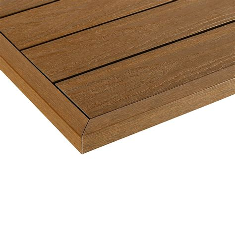 newtechwood ultrashield naturale  ft   ft quick deck