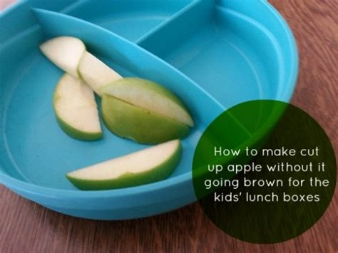 lunch box planner app lunch box tip how to keep cut up apple fresh planning