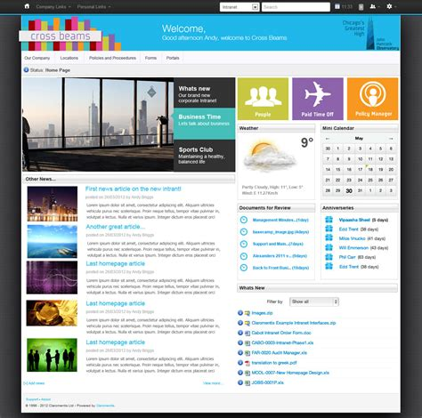 best layout features 8 features your intranet must have claromentis blog