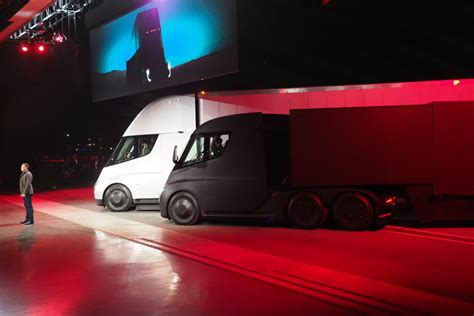 tesla truck this is tesla s big all electric truck the tesla
