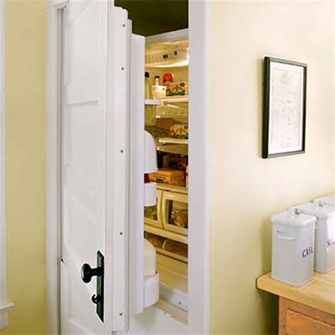refrigerator that looks like a cabinet built in refrigerators that blend perfectly into your