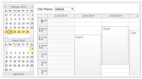 html event calendarscheduler codeproject