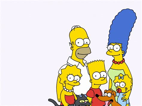 The Simpsons by The Simpsons Family 1400x1050 Wallpapers 1400x1050