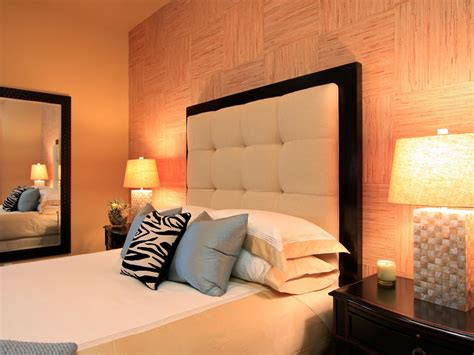Bedroom Headboards Designs 10 Warm Neutral Headboards Bedrooms Bedroom Decorating Ideas Hgtv