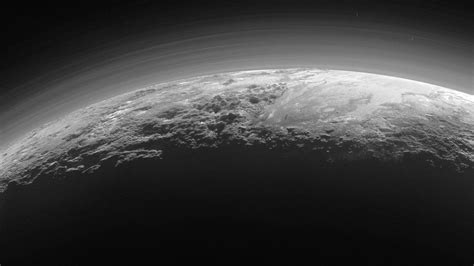new images of pluto images reveal pluto s hazy horizon news