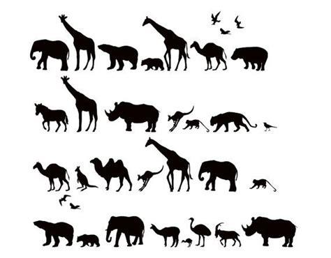 Afika Syari Black safari animals wall decal africa vinyl wall decal sticker wd0221 vinyls africa and