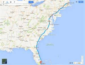 distance between new york and washington dc by car the route a w e s o m e