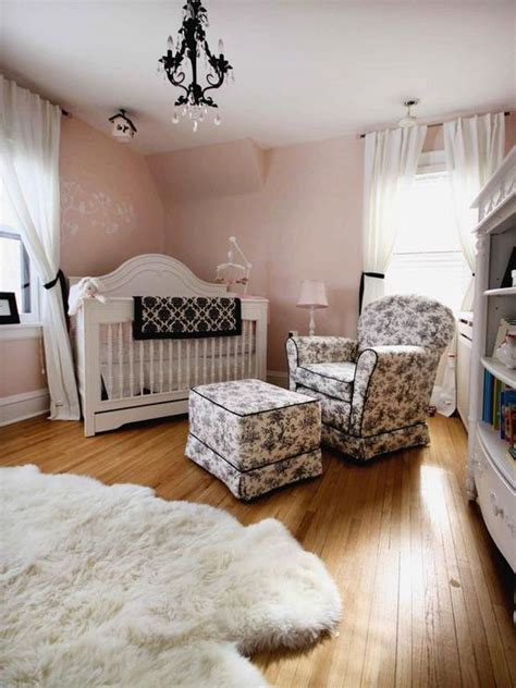 Country Nursery Decor Say Quot Oui Quot To Country Decor Pink Walls Country Baby Rooms And Toile
