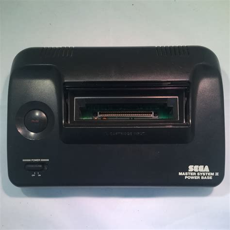 master console sega master system ii console with rgb scart 60hz mod