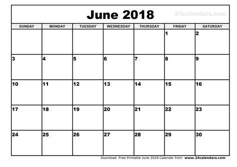 printable calendar pages 2018 printable calendar june 2018 pdf yspages com