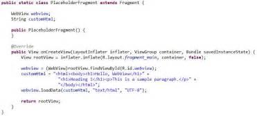 membuat html di android membuat html di android