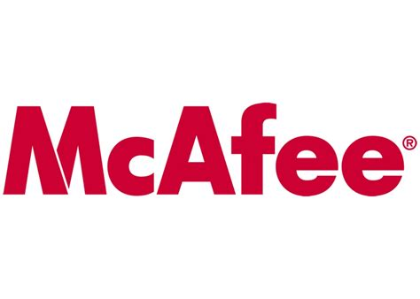 Home Mcafee by Mcafee Logo Software Logonoid
