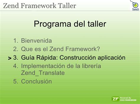 que es layout traduccion zend framework taller de seed software colombia