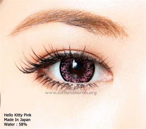 Original Softlens Hello Violet Ungu Jual Softlens Warna Pink Merah Muda Free Ongkir