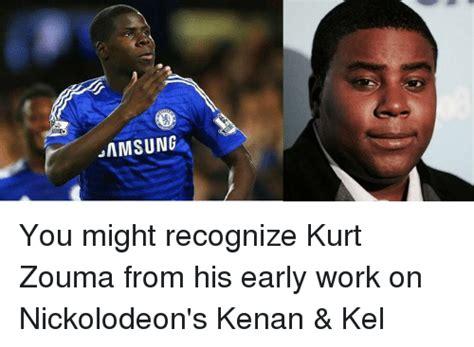 Kenan And Kel Memes - samsung you might recognize kurt zouma from his early work on nickolodeon s kenan kel soccer