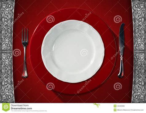 Velvet Dagger Plate empty plate on velvet background stock illustration image 45492689