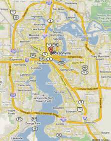 map of jacksonville fl free printable maps