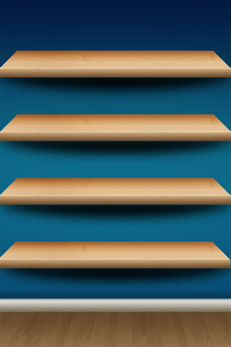 icon shelf simply beautiful iphone wallpapers