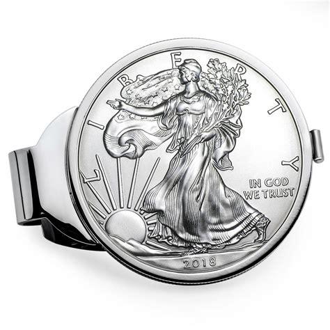 1 Oz Silver Eagle 2018 - buy 2018 1 oz silver eagle money clip silver