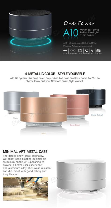 Minimalist Computer Speakers by 100 Minimalist Speakers Portable Speaker Slashgear