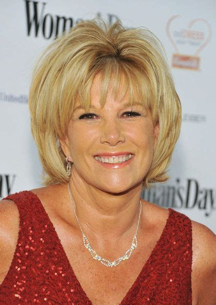 how to style hair like joan lunden joan lunden in woman s day 8th annual red dress awards