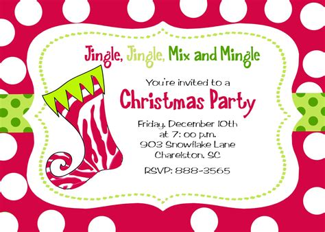 themes christmas party invitation gorgeous christmas party invitation ideas and jingle